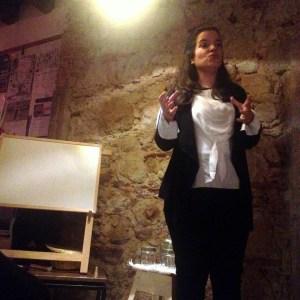 Francisca Valente, no 24º PubhD de Lisboa